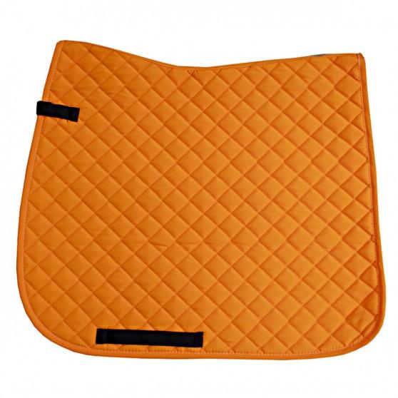 IR Tapis de Selle Carrés sérrés dressage Fluo Orange fluo