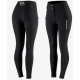 Pantalon d'équitation thermique silicone fond intégral Justine B Vertigo Noir