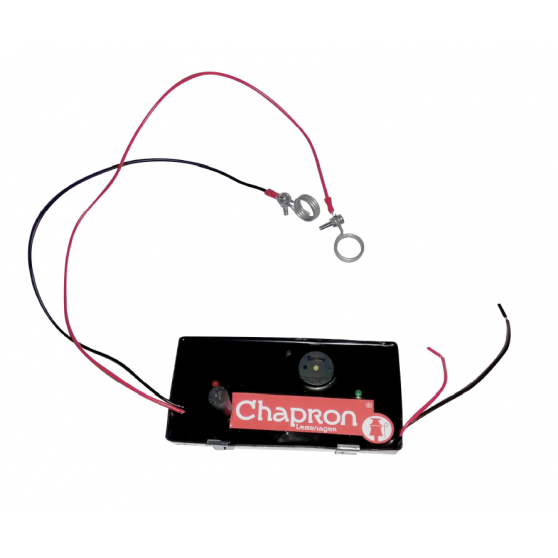 Coupe circuit batterie électrificateur Buzzer ASD
