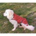 Manteau couverture pour chiens imperméable 600D 100GRS avec trou de laisse DMH
