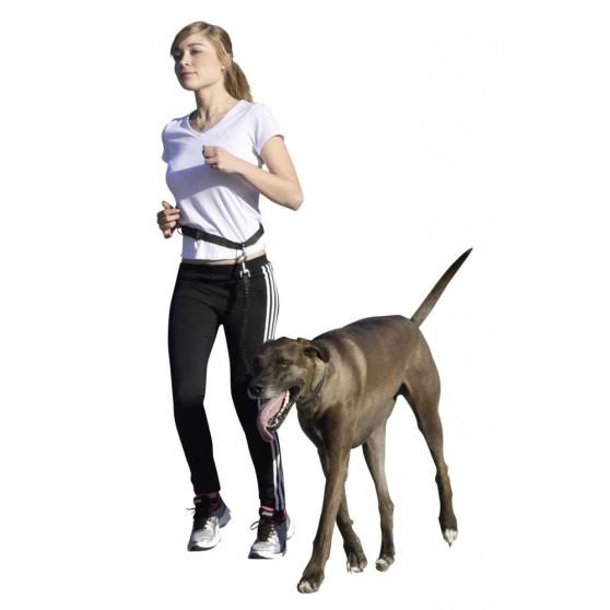 Laisse de jogging avec son chien plus ceinture Active