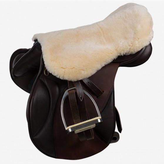 Couvre-siège de selle mouton Horze Harleigh