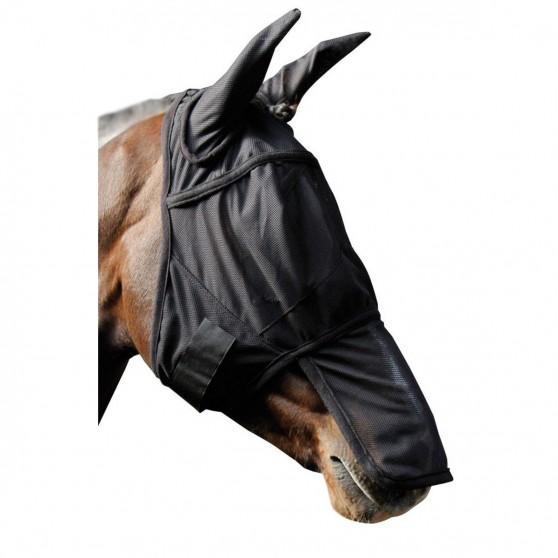 Masque intégral bonnet anti-mouches protège nez Meilleur prix d'Europe Argent
