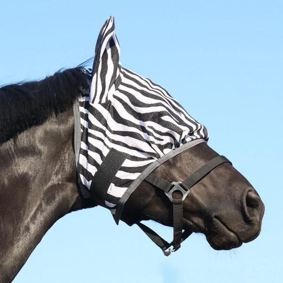 Masque anti-mouches zebra DMH Equitation