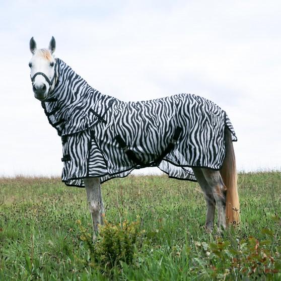 Couverture et couvre-cou anti-mouches -Zebra DMH
