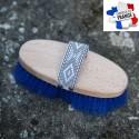 Brosse dure dos en bois, 19 cm Made in France