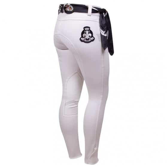 Pantalon HV POLO Sosa fond tissu destockés Blanc