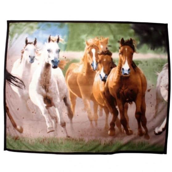 plaid-polaire-imprime-chevaux