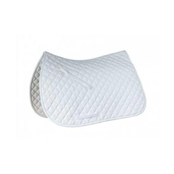 Horze Tapis de selle Price-Z mixte Blanc