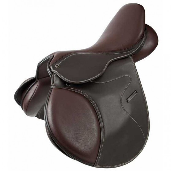 Selle Mixte cuir synthétique TdeT Chocolat