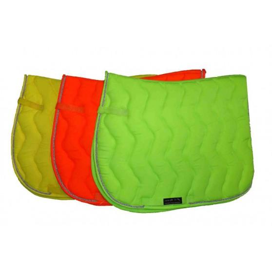 tapis-de-selle-neon-fluo-jaune-vert-orange-cheval-et-poney