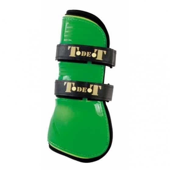 TdeT Guêtres protèges tendons design Fluo jersey Vert