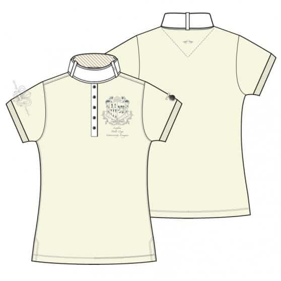 HV Polo Shirt Garuda HV-Polo 2014 Ivoire