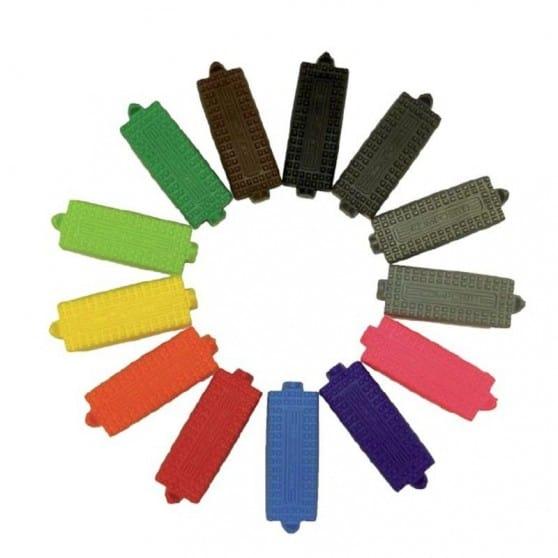 Semelles pour étriers Compositi Premium Composite couleur Framboise