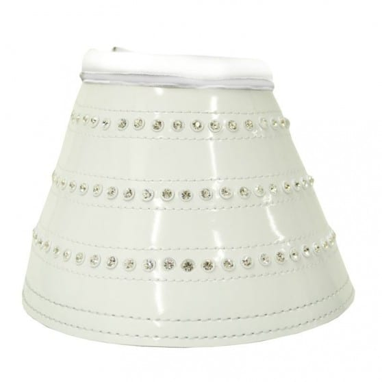 Impérial Riding cloches Starlight strass Blanc