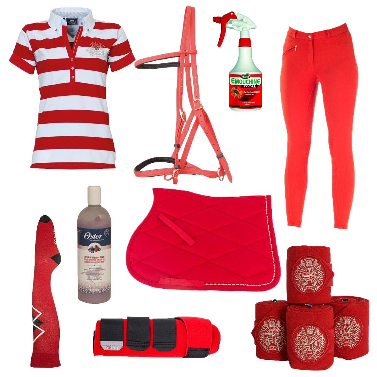sélection shopping couleur rouge
