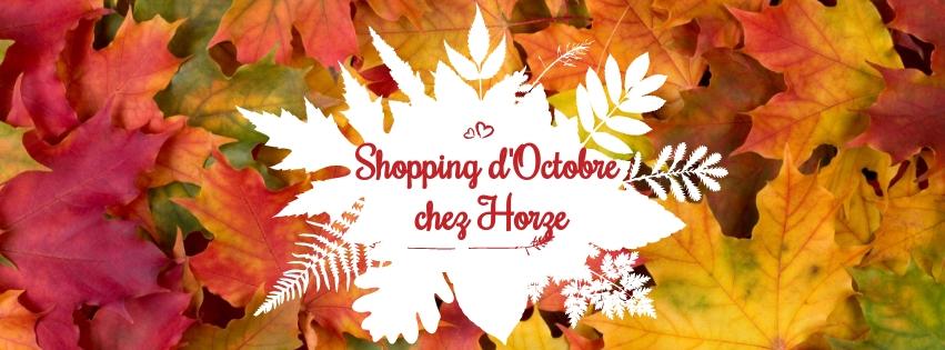 bannière shopping d'octobre Horse