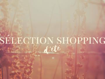 bannière sélection shopping été