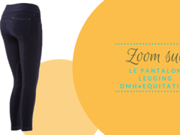 visuel en tête de blog zoom sur le pantalon DMH Equitation