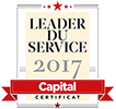 Meilleur service client 2017