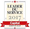 Meilleur service client 2017
