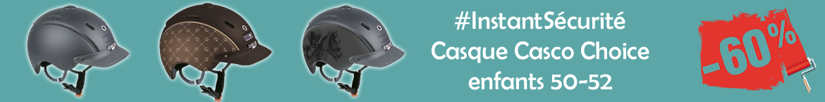 Casque Casco Choice enfants 50-52